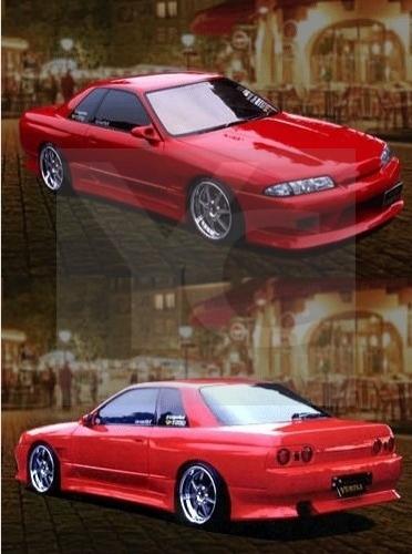 1989-1994 Nissan Skyline R32 2D 4D GTS VTX Style Body Kit
